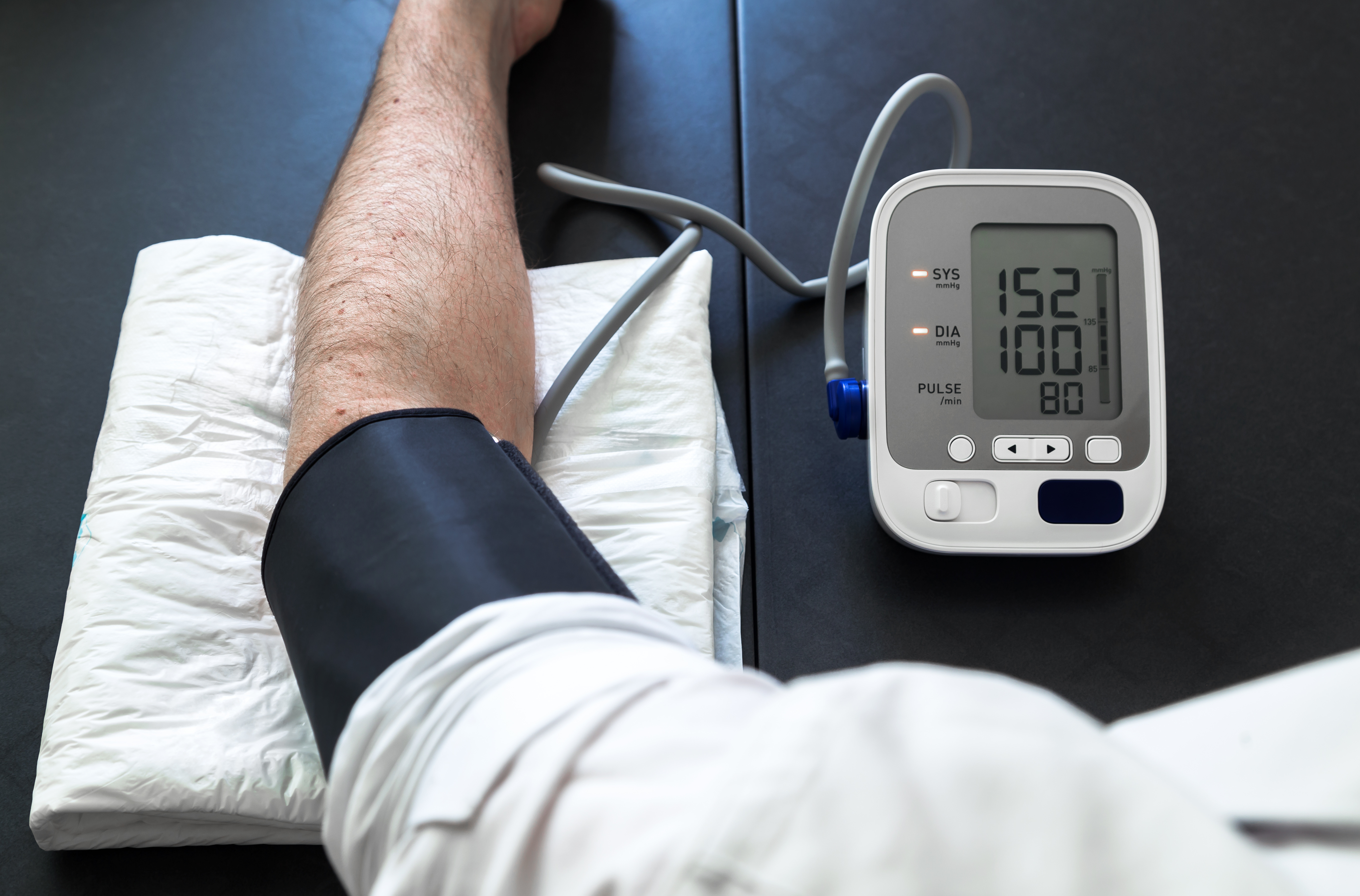 How High Blood Pressure Affects Your Feet